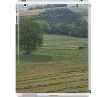 Turning the hay  iPad Case/Skin