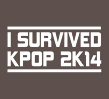 I SURVIVED KPOP 2K14 - SM STYLE PINK Kids Clothes