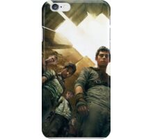 The Maze Runner Characters iPhone Case/Skin