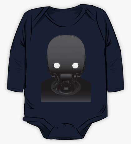 K-2SO (Outlined) One Piece - Long Sleeve
