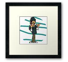 Chris McLean Bucket Hat Framed Print