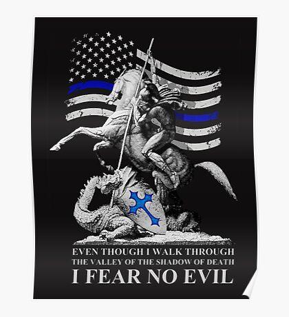 True Blue Crusader Poster