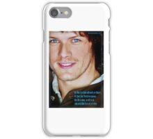 Outlander: Blue Eyed Lad iPhone Case/Skin
