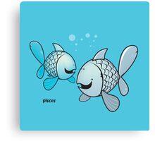 funny zodiac/pisces Canvas Print