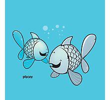 funny zodiac/pisces Photographic Print