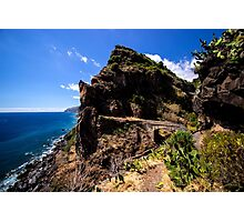 Paradise Cliff - Nature Photography Photographic Print