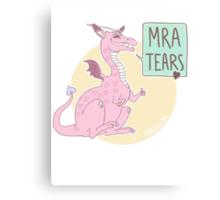 MRA tears <3 Canvas Print