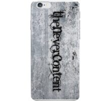 The Never Content (phone case) iPhone Case/Skin