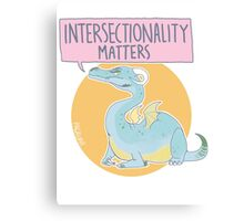 intersectionality matters Canvas Print