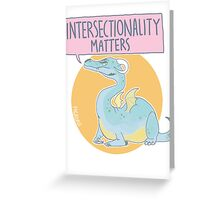 intersectionality matters Greeting Card
