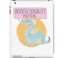 intersectionality matters iPad Case/Skin
