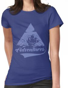 Enjoy the adventures! Womens Fitted T-Shirt