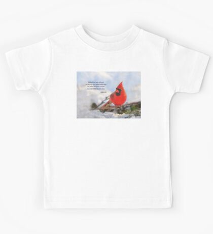 Behold the Birds of the Air Kids Tee