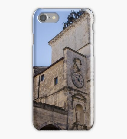Streets of Italy - Guardiagrele Cathedral iPhone Case/Skin