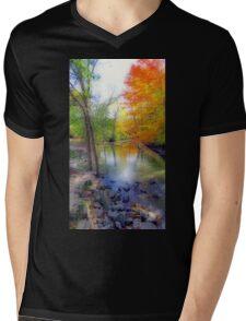 Autumn At Petrifying Springs Mens V-Neck T-Shirt