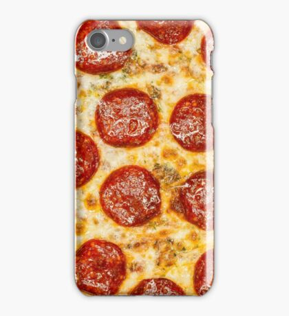 Pepperoni Pizza iPhone Case/Skin