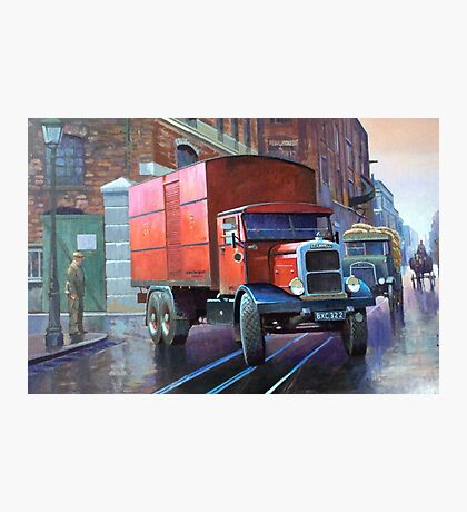 Post Office Supplies Scammell rigid 6 Photographic Print
