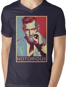 The Notorious Conor McGregor Mens V-Neck T-Shirt