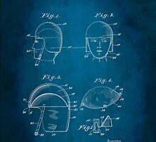 Soldier Headwear Patent 1919 by Patricia Lintner