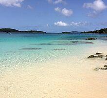 Honeymoon Beach, St John US Virgin Island by kjrvmsi