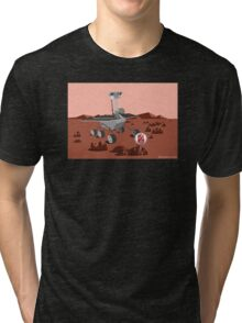 Mars Opportunity Rover Tri-blend T-Shirt