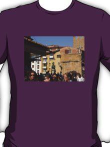 Leaving The Ponte Vecchio.............................Florence T-Shirt