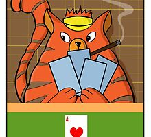 Cat Poker by James McLean
