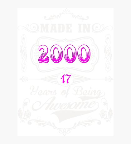 Born  in 2000 Photographic Print