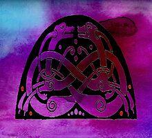 Celtic Dogs Symbol by GrimalkinStudio