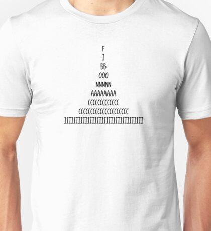 Fibonacci Sequence Unisex T-Shirt
