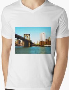 From a Brooklyn Point of View Mens V-Neck T-Shirt