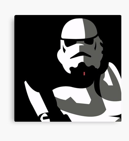 Stormtrooper | by: bunnylov3 Canvas Print