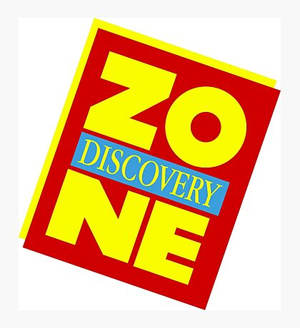 DZ Discovery Zone - DZ is one of a kind! Photographic Print