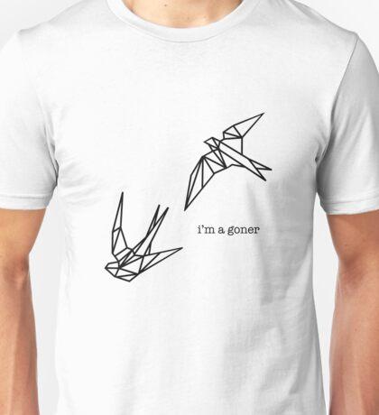 """I'm A Goner"" - Goner lyric (Twenty One Pilots) Unisex T-Shirt"