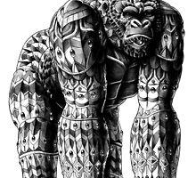 Silverback Gorilla by BioWorkZ