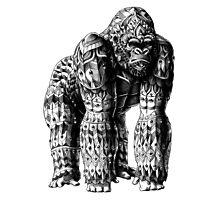 Silverback Gorilla Photographic Print