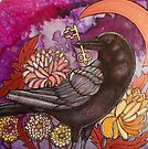 Crow and Key by Lynnette Shelley