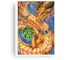 Oriental Dragon  Canvas Print