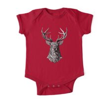 Ornate Buck One Piece - Short Sleeve