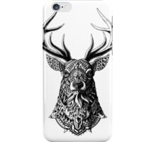 Ornate Buck iPhone Case/Skin