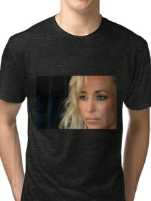 Blond Woman Tri-blend T-Shirt