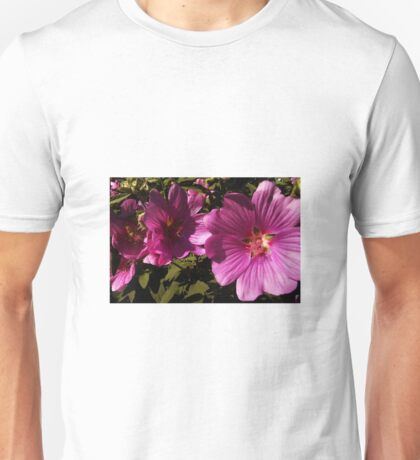 Lavatera - A Study in Pink Unisex T-Shirt