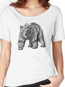 Ornate Bear Women's Relaxed Fit T-Shirt