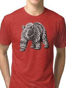 Ornate Bear Tri-blend T-Shirt