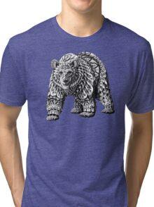 Ornate Bear Tri-blend T-Shirt