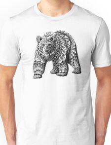 Ornate Bear Unisex T-Shirt