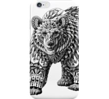Ornate Bear iPhone Case/Skin