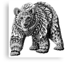 Ornate Bear Canvas Print