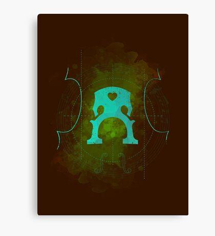 Sound of Cello Canvas Print