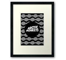 AM wave Framed Print